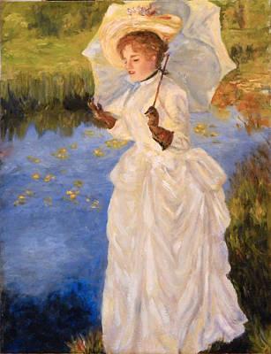 Victorian Lady Art Print