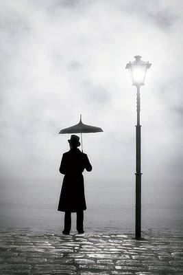 Umbrella Photograph - Victorian Man by Joana Kruse
