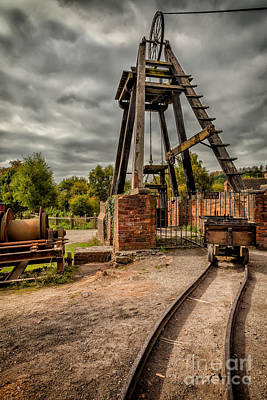 Miner Photograph - Victorian Mine by Adrian Evans