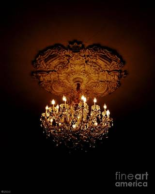 Photograph - Victorian Night Light St Francisville Inn Louisiana by Lizi Beard-Ward