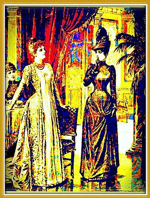 Designer Clothes Painting - Victorian Proper by Larry Lamb