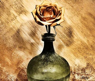 Gold Roses Photograph - Victorian Rose by Marsha Heiken