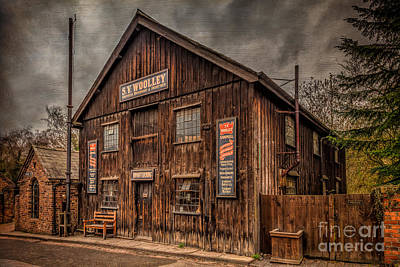 Signed Digital Art - Victorian Sawmill by Adrian Evans