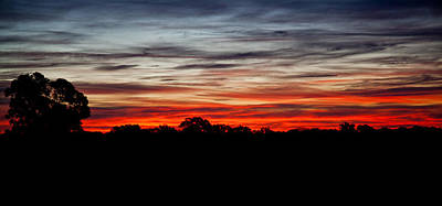 Photograph - Victorian Sunset by Carole Hinding