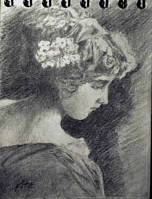 Victorian Teen Art Print