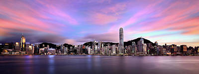 Hong Kong Wall Art - Photograph - Victoric Harbour, Hong Kong, 2013 by Joe Chen Photography