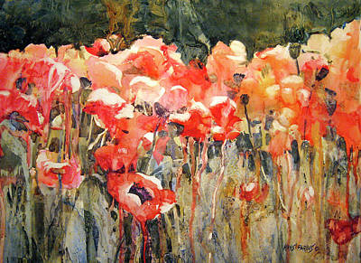 Florida Flowers Painting - Victor's Longest Day by Kris Parins