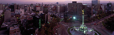 Mexico City Photograph - Victory Column In A City, Independence by Panoramic Images