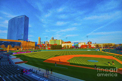 Victory Field 1 Art Print by David Haskett