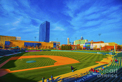 Victory Field 2 Art Print by David Haskett
