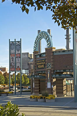 Indianapolis Indians Photograph - Victory Field Indianapolis by Devinder Sangha