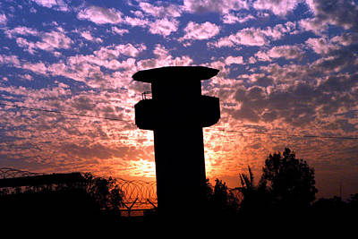 Marine Photograph - Victory Lookout Tower by Annette Redman