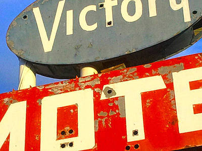 Photograph - Victory Motel by Gail Lawnicki
