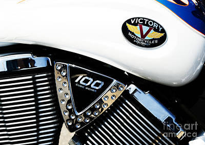 Photograph - Victory Motorcycle  by Tim Gainey