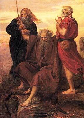 Torah Art Painting - Victory  O Lord by John Everett Millais