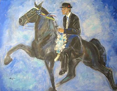 Tenn Painting - Victory Round by Blanche Gaddis