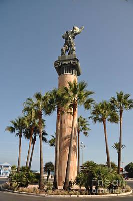 Tbilisi Photograph - Victory Statue In Puerto Banus by Luis Alvarenga