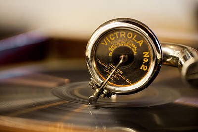 Photograph - Victrola No 2 by Fran Riley