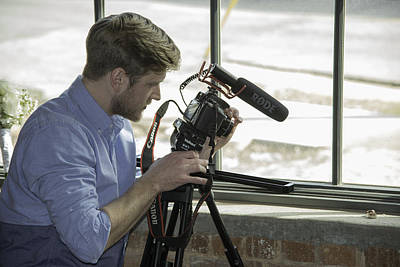 Photograph - Video Man by David Waldrop