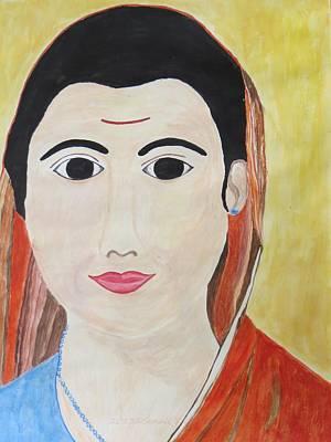 Jyoti Painting - Vidya Jyoti by Sonali Gangane