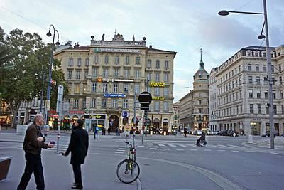 Photograph - Vienna-166 by Rezzan Erguvan-Onal