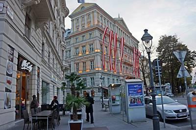 Photograph - Vienna-167 by Rezzan Erguvan-Onal