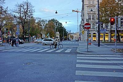 Photograph - Vienna-168 by Rezzan Erguvan-Onal