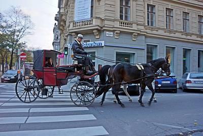 Photograph - Vienna-169 by Rezzan Erguvan-Onal