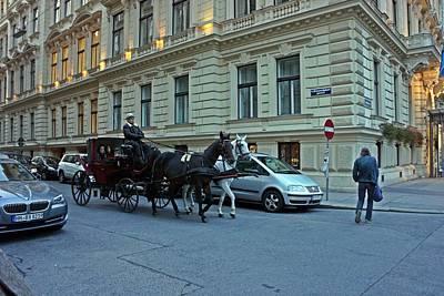 Photograph - Vienna-171 by Rezzan Erguvan-Onal
