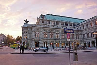 Photograph - Vienna-174 by Rezzan Erguvan-Onal