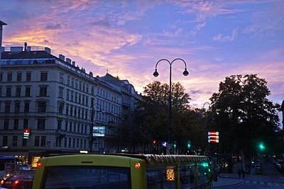 Photograph - Vienna-175 by Rezzan Erguvan-Onal