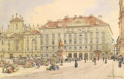 1910s Painting - Vienna 1913 by Mountain Dreams