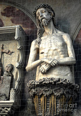 Photograph - Vienna Austria - St. Stephen's Cathedral - Christ by Gregory Dyer