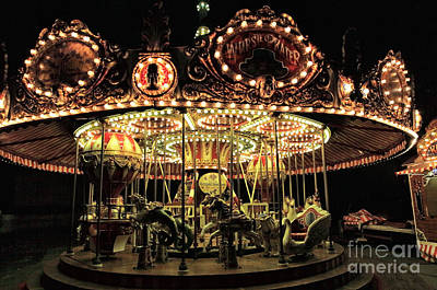 Photograph - Vienna Carousel by John Rizzuto