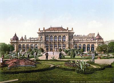 Viennese Painting - Vienna Casino, C1895 by Granger