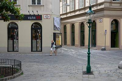 Europe Photograph - Vienna Judenstrasse by Steven Richman
