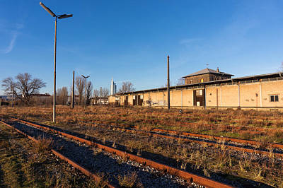 Photograph - Vienna Nordbahn Abandoned Railway by Menega Sabidussi