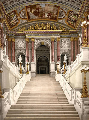 Photograph - Burgtheater, C1895 by Granger