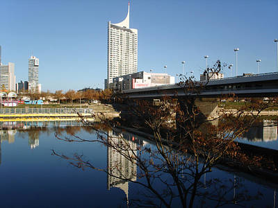 Photograph - Vienna Skyscraper New Danube by Menega Sabidussi