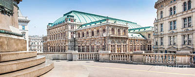 Photograph - Vienna State Opera by JR Photography