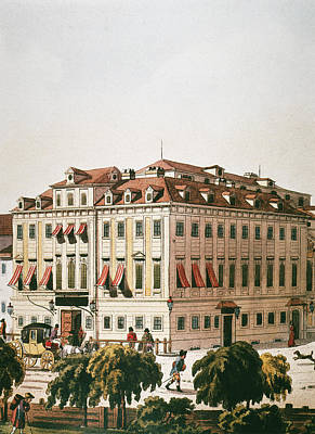 Viennese Painting - Vienna Theater, C1800 by Granger