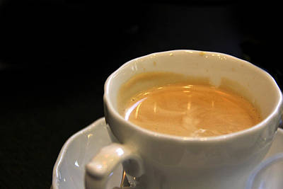 Cup Photograph - Viennese Coffee by Nancy Ingersoll