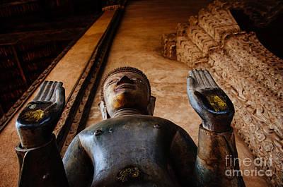 Photograph - Vientiane Buddha by Dean Harte