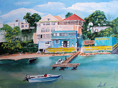 Vieques Puerto Rico Art Print by Luis F Rodriguez