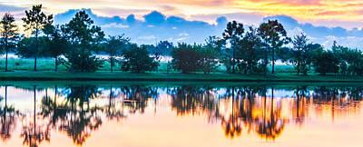 Photograph - Viera Sunrise Scene 3 by Cliff C Morris Jr