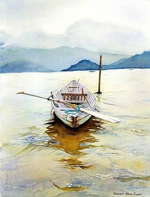 Painting - Vietnam Boat by Brenda Beck Fisher