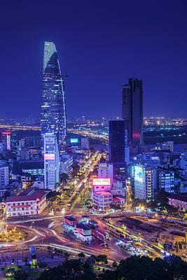 Ho Chi Minh City Photograph - Vietnam, Ho Chi Minh City by Walter Bibikow