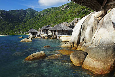 Vietnam, Nha Trang, Six Senses Hideaway Art Print by Tips Images