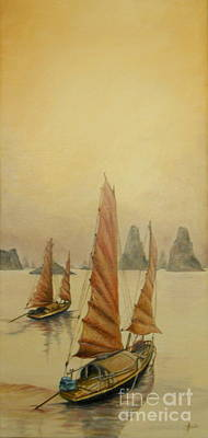 Painting - Vietnam by Sorin Apostolescu