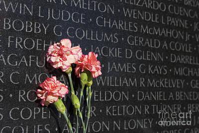 Photograph - Vietnam Veterans Memorial by Jim West